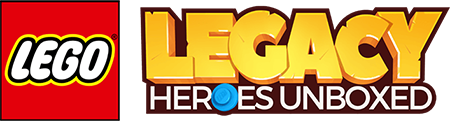 Lego : Legacy Heroes Unboxed